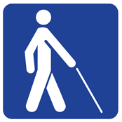 International symbol for low vision access