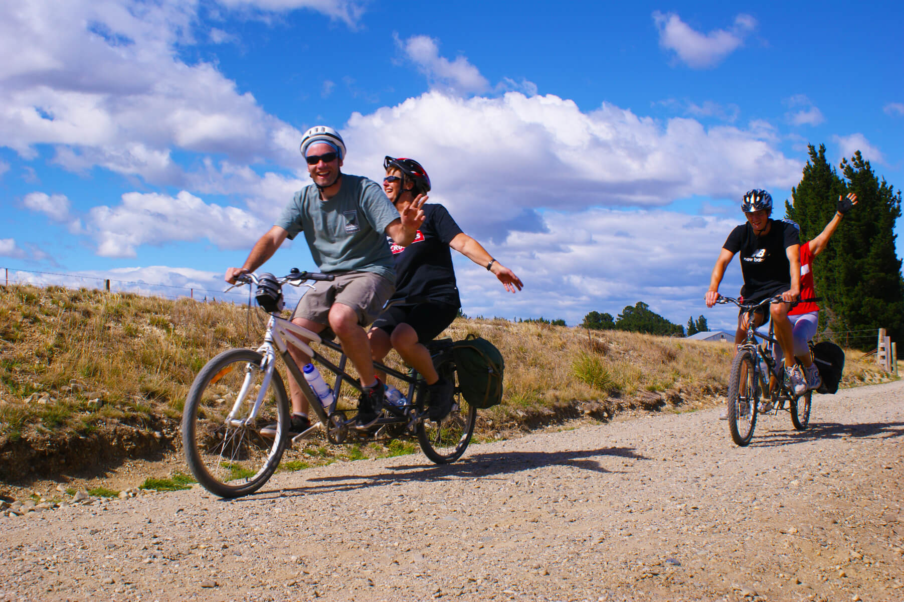 Vision impaired tandem cycling